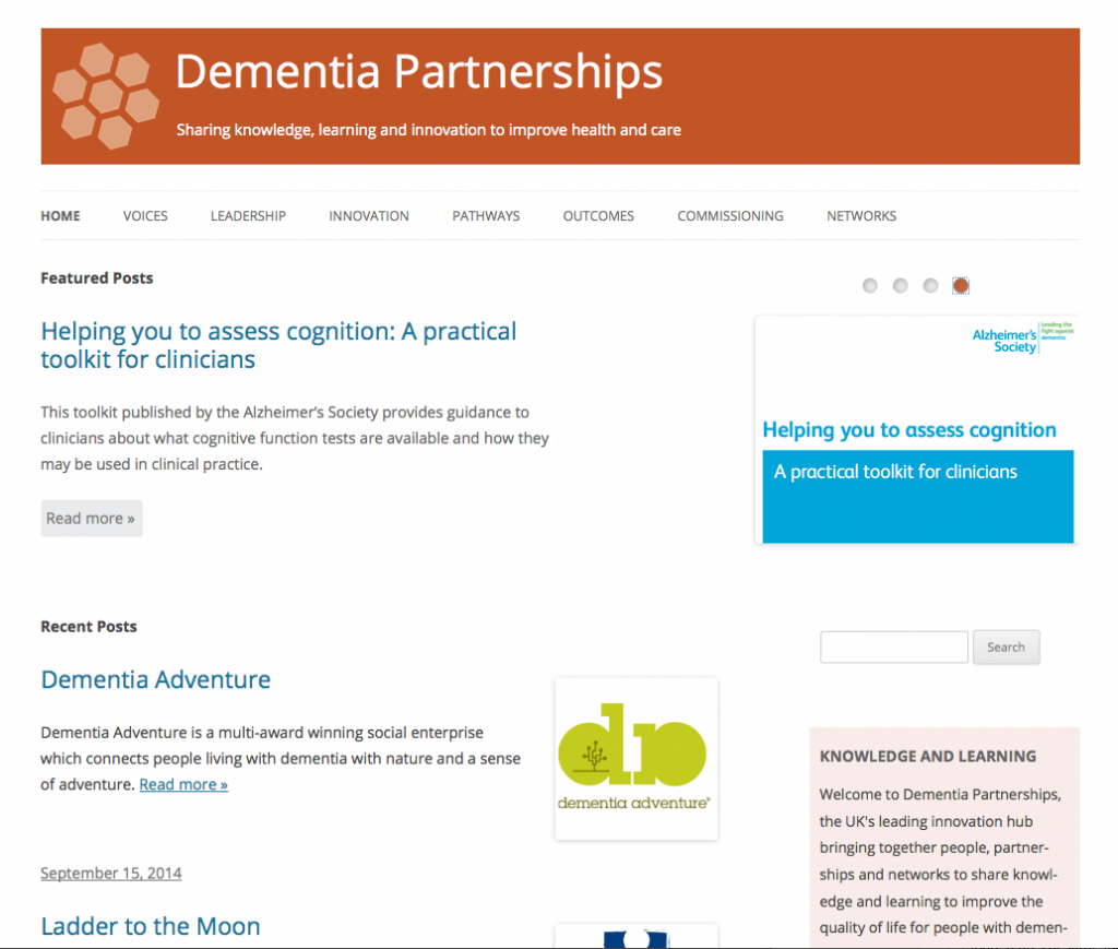 Dementia Partnerships