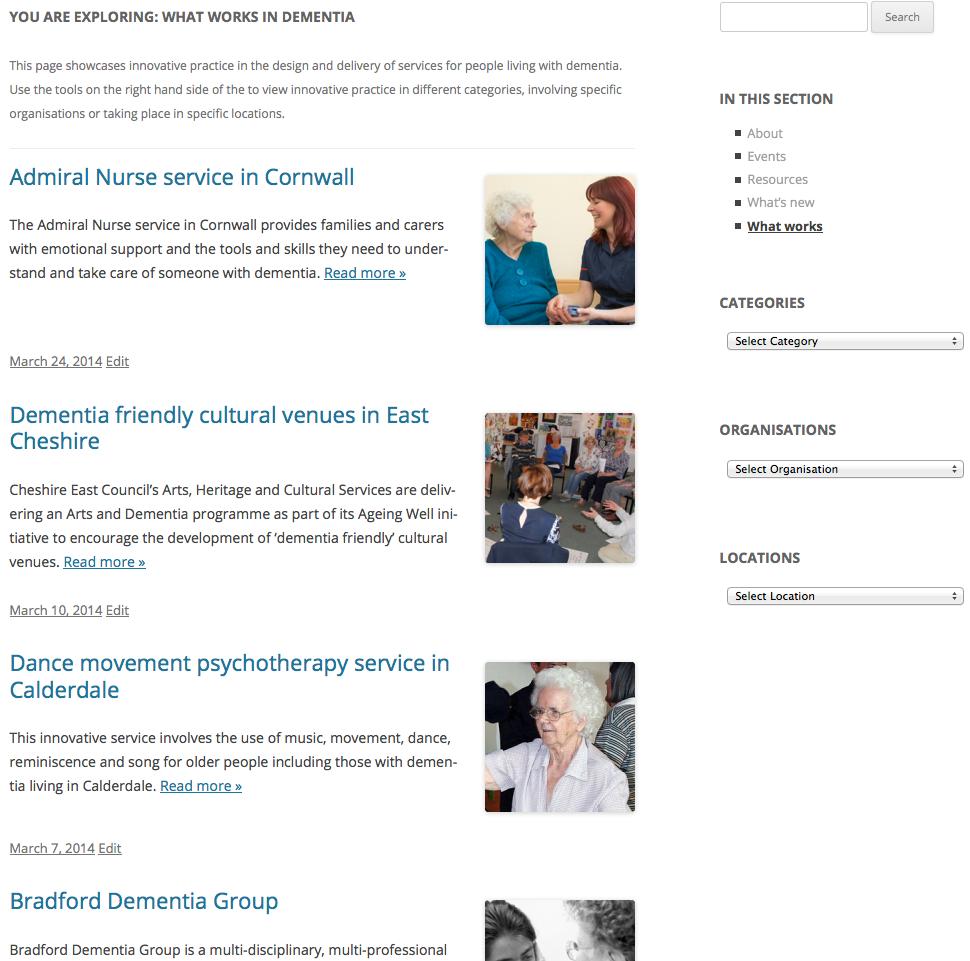 Dementia Partnerships
