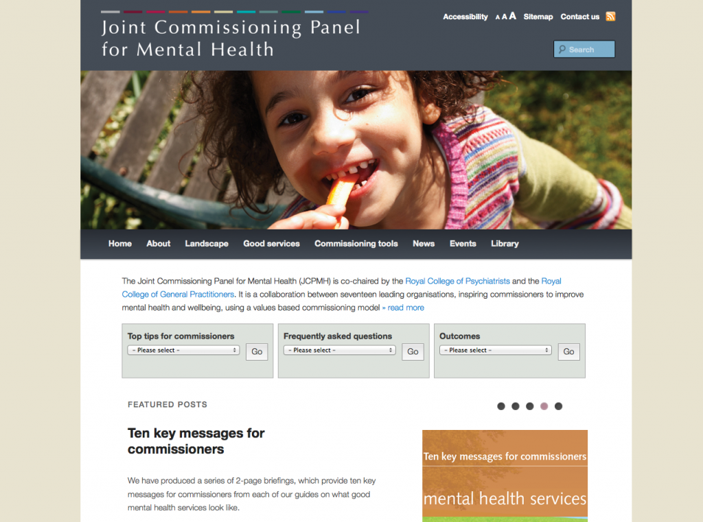 Joint Commissioning Panel for Mental Health